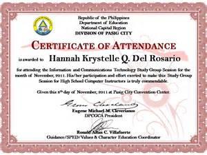 Certificate designs technospecs