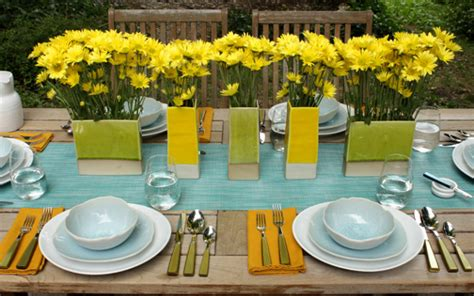 lunch table setting ideas the table setting for dinner 12 al fresco brunch dinner