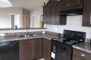 ivory kitchens with black appliances related contemporary kitchen ideas
