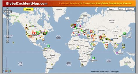 global incident map global incident map weltweit unf 228 lle verfolgen