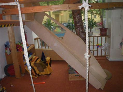 indoor rutsche hochbett mit rutsche selber bauen daredevz