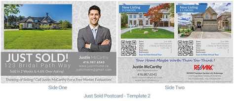 jist card template real estate postcard houssmax