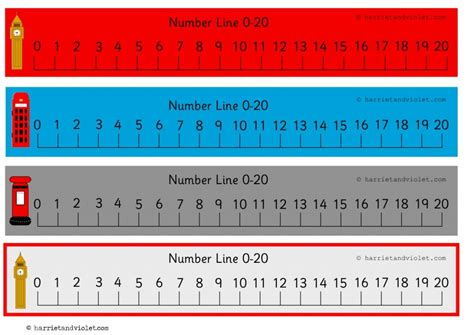 large printable number line 1 20 lovely london number line 0 to 20 0 20 numberline with