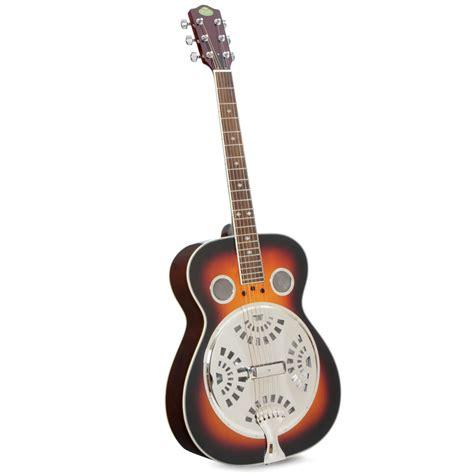 Resonator Call the resonator guitar hammacher schlemmer