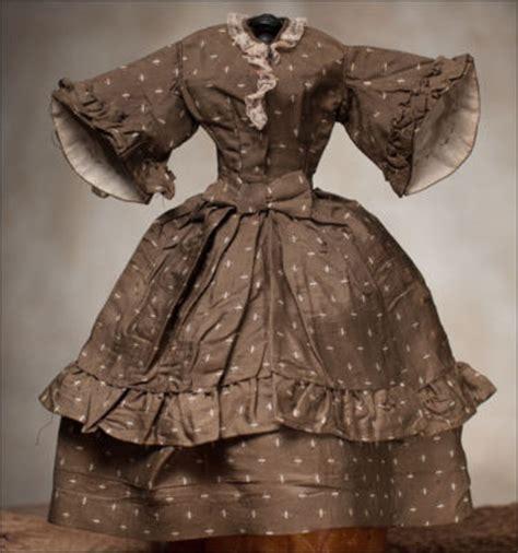 antique original fashion doll dress by herbillon