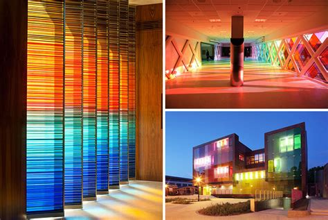 examples  colored glass   modern architecture