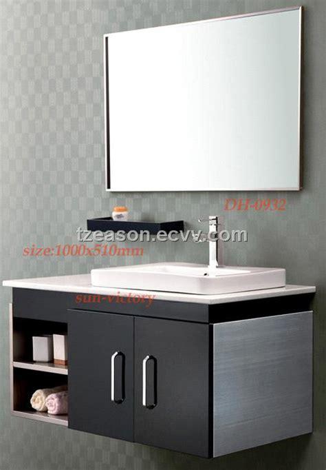Stainless Steel Bathroom Vanity, bathroom cabinets (DH