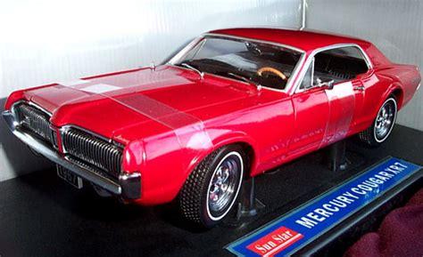 mercury cougar xr red sunstar  diecast car