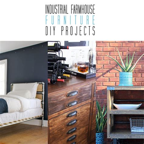 industrial diy projects industrial farmhouse furniture diy projects the cottage