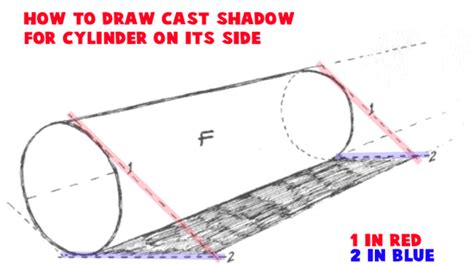 how to use doodle cast how to draw cylinders and drawing shaded cylindrical