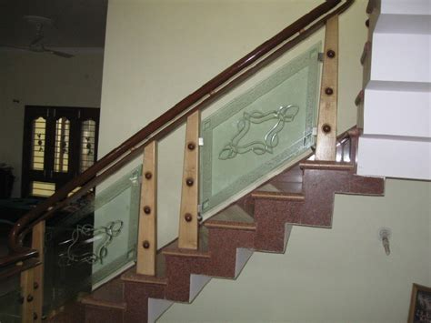 Wooden Stair Banisters Latest Glass Wood Stair Case Design Modern Glass Stairs
