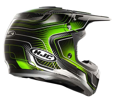 Helm Cross Visor hjc ac mx cross helmet aura fc moto shop de