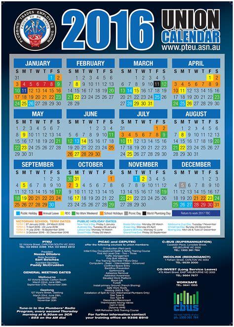 cfmeu calendar  calendar template