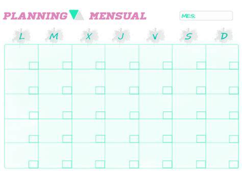 calendario rosea l septiembre 2016 para imprimir organizacion un planificador mensual para tu blog paperblog