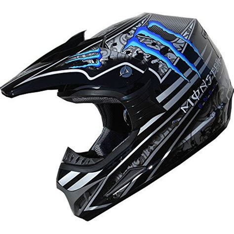 blue motocross helmet dot dirt bike atv motocross helmet 162 blue black