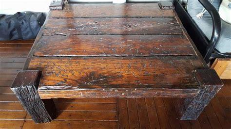 Railway Sleepers Cape Town by Railway Sleeper Wood Coffee Table Lounge Furniture