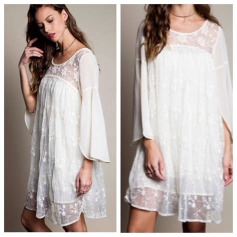 Lace Dress Xx61738 S M L dresses skirts sale boho lace babydoll dress s m