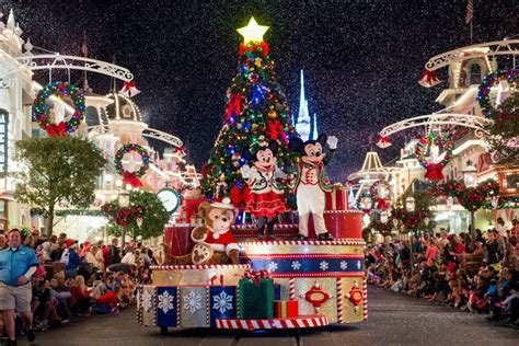 how to christmas at walt disney world sand and snow