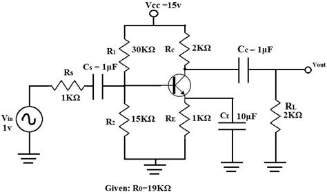 transistor lifier ac exle of ac transistor circuit analysis of the mid frequency response