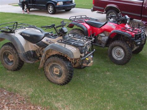 2000 suzuki 300 king 4x4 owned and