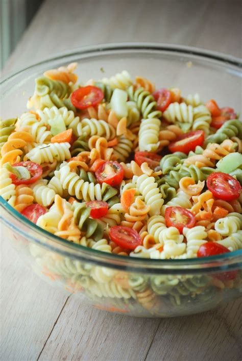 tri color pasta recipe tri color pasta salad recipes italian dressing