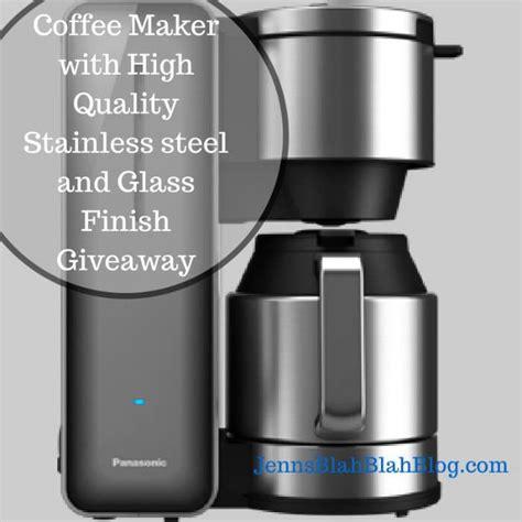 Coffee Maker Giveaway - panasonic coffee maker giveaway jays sweet n sour life
