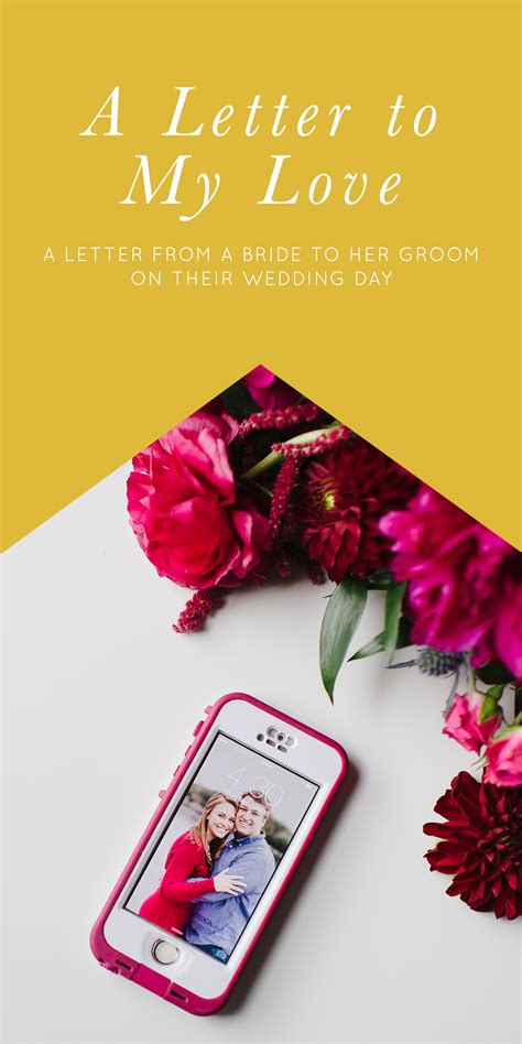 Wedding Day Letter To Groom