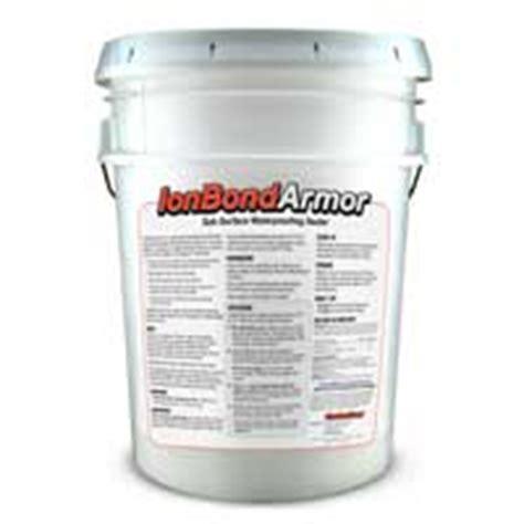 ionbond armor subsurface elastomeric concrete sealer forms a how to seal cinder block walls radonseal