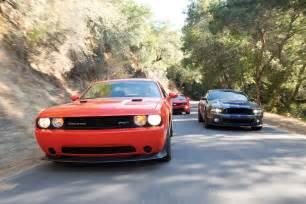 2014 dodge challenger srt8 vs 2014 mustang gt autos post