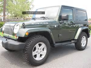 Jeep Wrangler Rubicon 2 Door 2011 Jeep Wrangler Rubicon Sport Utility 2 Door 3 8l