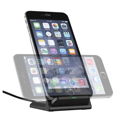 iphone or samsung 3 coils qi wireless fast charger charging dock stand holder for iphone samsung ebay