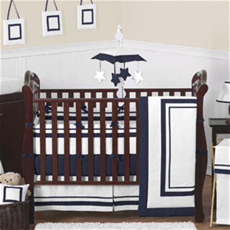 Hotel Baby Crib White And Gray Modern Hotel Baby Bedding 9pc Crib Set By Sweet Jojo Designs Only 189 99