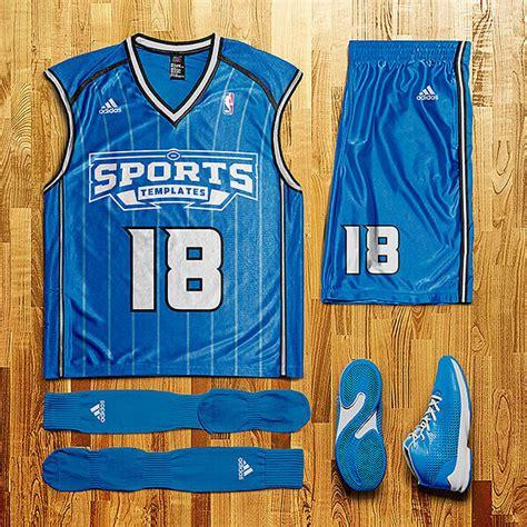 Basketball Uniform Layout Template Sports Templates Basketball Jersey Template Psd