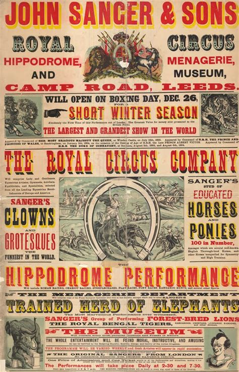 Vintage Circus Flyer flyer goodness vintage circus posters and flyers from the
