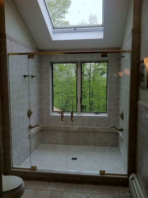 window in bathroom shower shower with window luxury showers pinterest