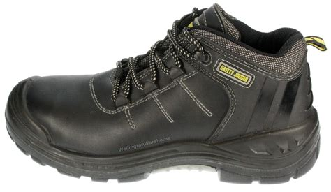 Safety Jogger Boreas 2 S3 safety jogger froce 2 s3 composite metal free toecap leather lace work trainer boots