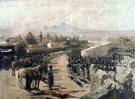 Wonderful History Of The Christian Church Timeline #6: Capture_of_Erivan_Fortress_by_Russia%2C_1827_%28by_Franz_Roubaud%29.jpg