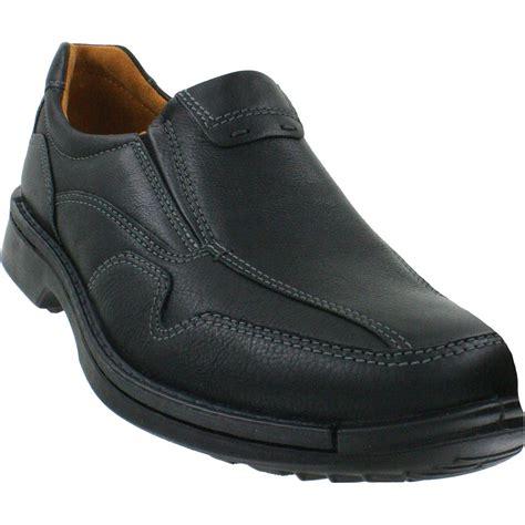 Leather Bb Gemini ecco fusion casual slip on black leather s shoe