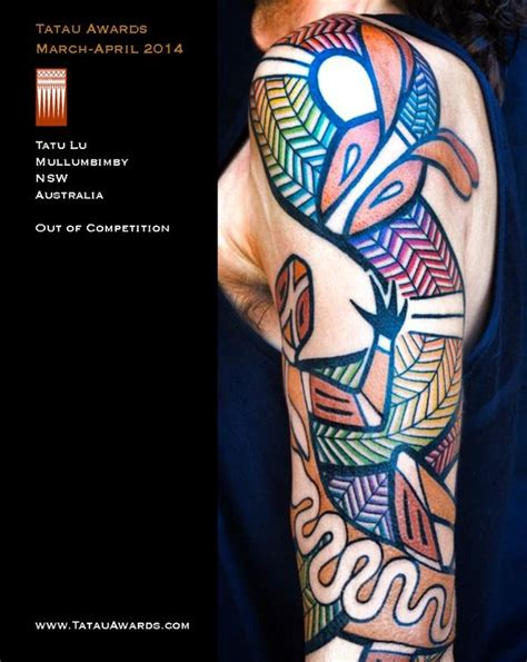 aboriginal tattoos aboriginal tattoos rainbow serpent amazing ink
