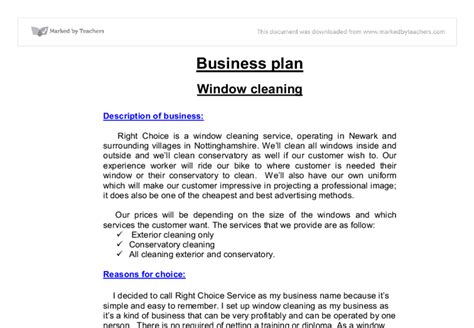 Cleaning Business Plan Templates Planning Business Strategies Sole Trader Business Plan Template