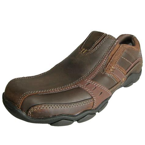 Record Shoes Slip On Ungu skechers mens 62895 diameter garzo leather slip on shoe
