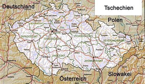 karte deutschland tschechien tschechien karte