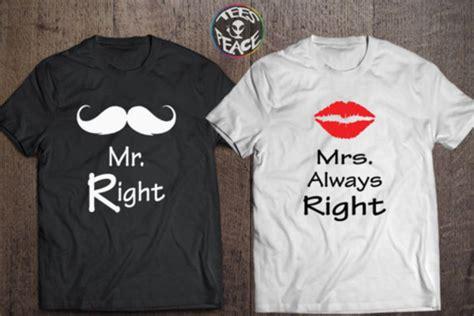 Personalized Boyfriend T Shirts T Shirt Mr And Mrs Personalized Husband Husband Gift