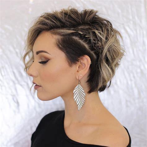 casual short hairstyles  women modern short