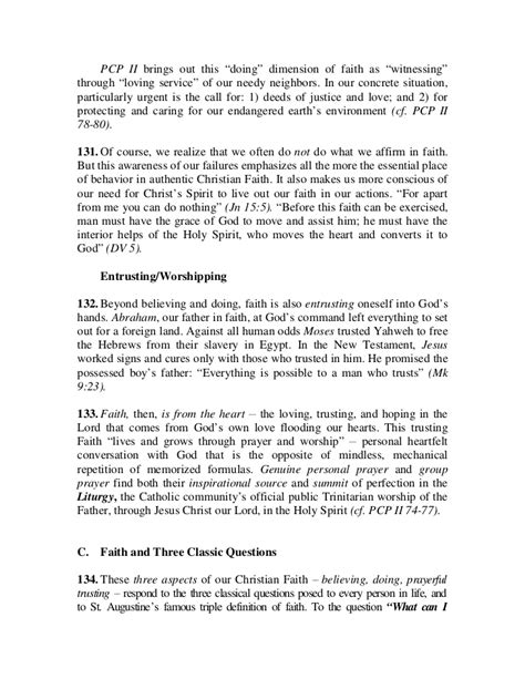Commitment Letter In Tagalog Catechism For Catholics Cfc
