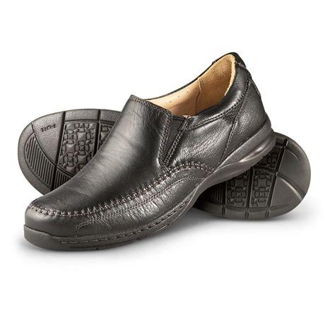 s florsheim 174 dawes slip on shoes black 231946