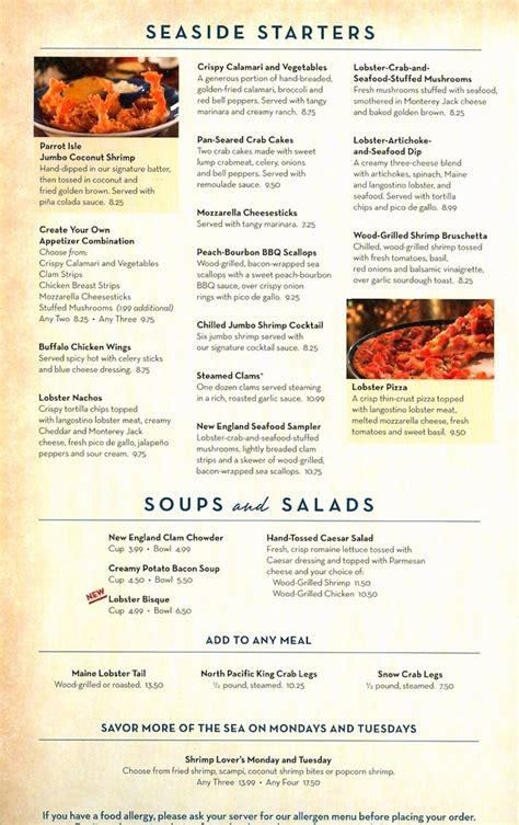 printable restaurant coupons red lobster red lobster printable menu freepsychiclovereadings com