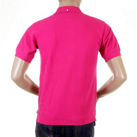 Blouse Qorry Polo Pink wear the charm of the pink polo shirt by evisu now