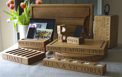 Handmade Gifts Uk - stunning personalised wooden gifts