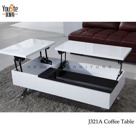 lift mechanism for coffee table high gloss modern lift top coffee table mechanism view